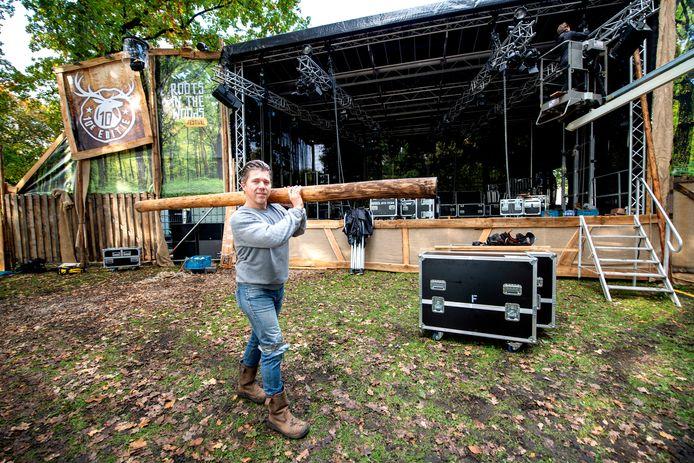 Marco Bod aan de vooravond van de tiende editie, de laatste in het Beekpark.