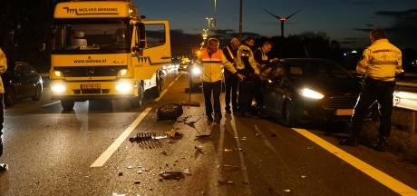 Rijstroken weer open op A1 na ongeval bij Deventer
