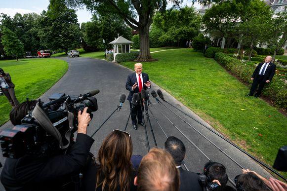 Donald Trump aan het Witte Huis