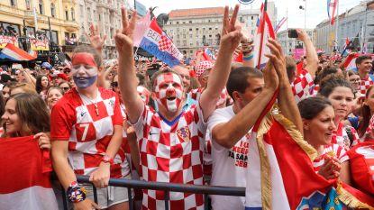 IN BEELD. Kroatische spelers toegejuicht door 300.000 (!) fans in Zagreb