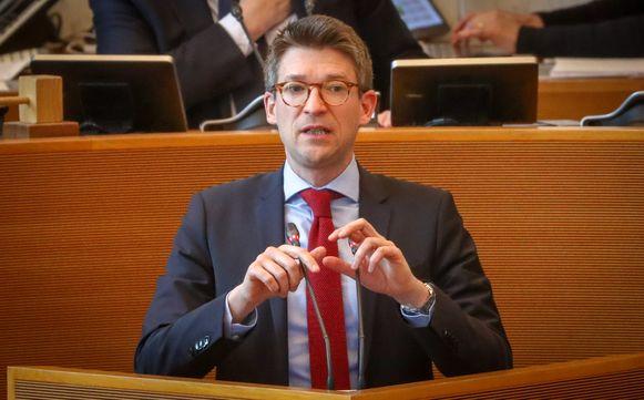 Waals minister van Lokale Besturen Pierre-Yves Dermagne (PS)