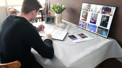 Fans Paul Severs tekenen rouwregister
