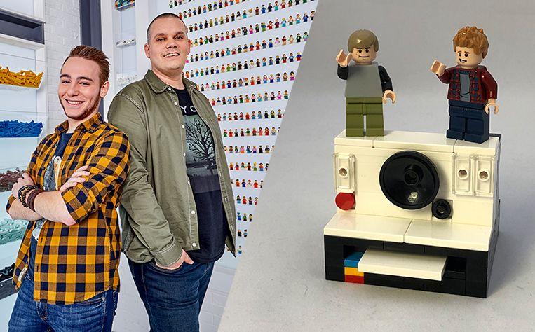 Corneel en Björn, deelnemers van 'LEGO Masters' op VTM