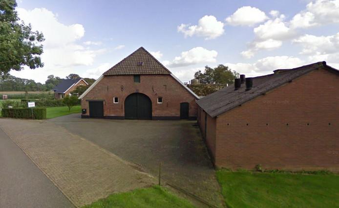 Het voormalige perceel van Kees Koolen aan de Polweg 6 in Wichmond.