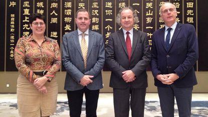 Drukke agenda voor Westhoek-burgemeesters in China