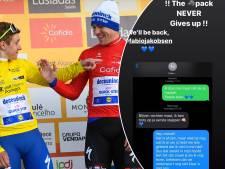 """La conversation de l'espoir entre Evenepoel et Jakobsen: """"Le cyclisme n'en a pas fini avec nous"""""""
