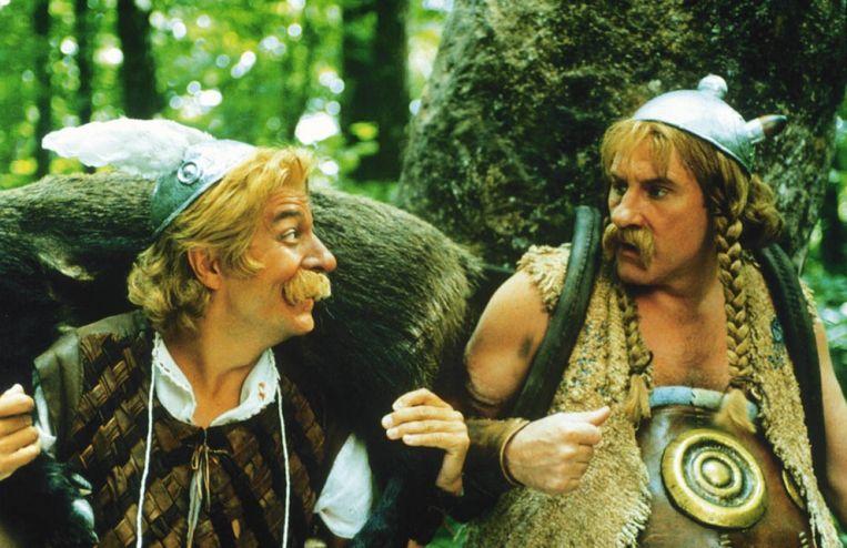 Een beeld uit de film 'Astérix & Obélix contre César'.