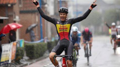 KOERS KORT. Beloftekampioen Florian Vermeersch maakt overstap naar WorldTour-team Lotto-Soudal - Nederlands kampioene naar Sunweb