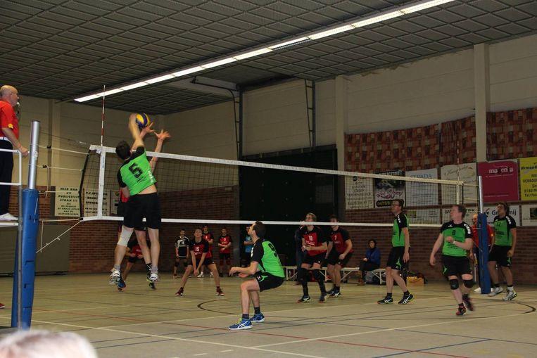 Volleybalclub Spectrum is een van de sportclubs die hun thuiswedstrijden afwerken in de oude sporthal.