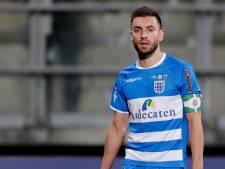 PEC Zwolle maanden zonder captain Van Polen
