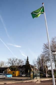 Achterhoekse vlag wappert lustig