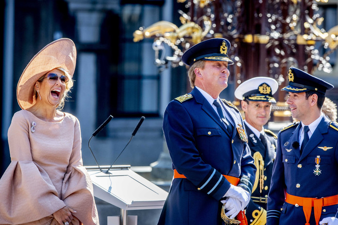 Koningin Máxima en koning Willem-Alexander.