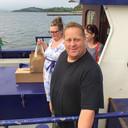 Tim O'Leary verzorgt de privé-veerdienst van Whiddy Island.