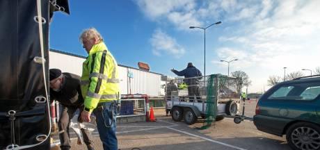 Klussers vinden ook op maandag hun weg naar Osse milieustraat