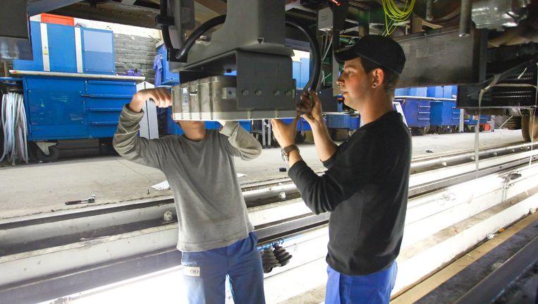 Na de treinramp in Buizingen werd beslist om het veiligheidssysteem versneld te installeren.