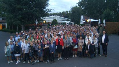 Familie Vercamer verzamelt 250 afstammelingen