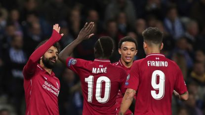 Liverpool bibbert één helft, maar straft inefficiënt FC Porto meedogenloos af