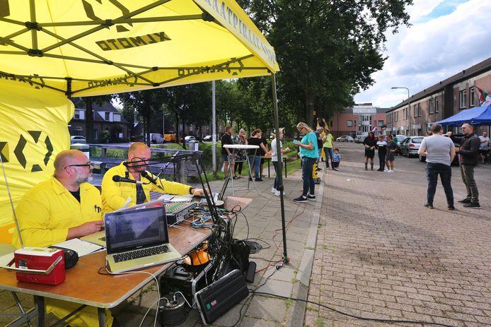 Radio Straatpiraat, een initiatief van kunstenaarscollectief Tilburg Cowboys,
