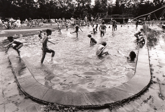 Speeltuin De Kievit in Nuenen (1992).