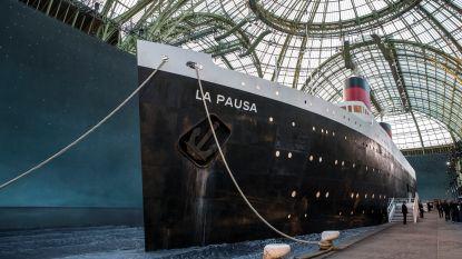 Chanel brengt Titanic terug tot leven in Parijs