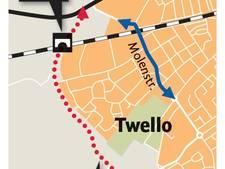 Eerste horde randweg Twello genomen