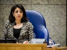 Kamervoorzitter Khadija Arib spreekt tijdens vijfjaarlijkse herdenking van ontruiming Kamp Vught