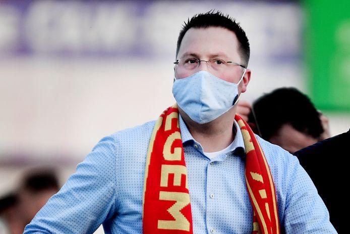 Kiran Van Landschoot is voorstander van een fusie tussen de Maldegemse ploegen.