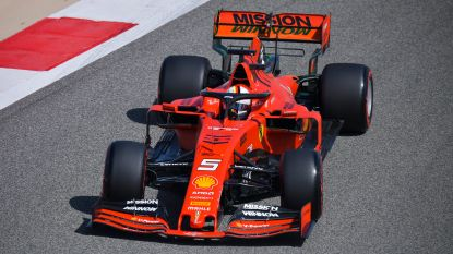 Ferrari domineert ook tweede vrije oefensessie in Bahrein, dit keer is Vettel de snelste