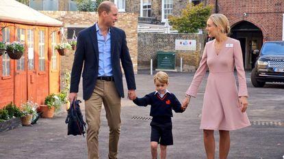 Mama Kate mist eerste schooldag van George door zware ochtendmisselijkheid