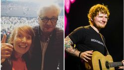 """Laurent met gezin naar concert Ed Sheeran: """"Ik ken hem niet"""""""