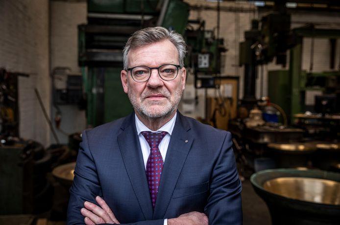 Joost Eijsbouts, eigenaar van Eijsbouts in Asten.