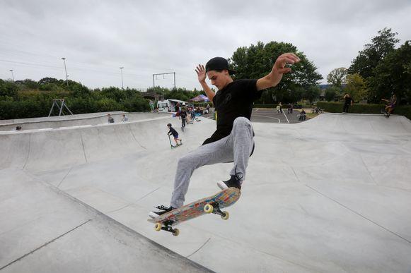 Skatepark Tempelhof mag weer gebruikt worden.