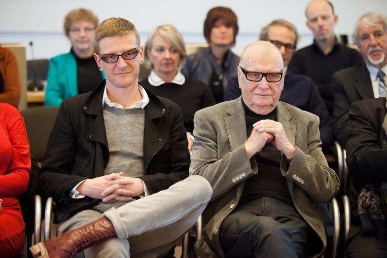 Piet en Norbert Goddaer kregen in februari 2015 de titel van cultureel ambassadeur.