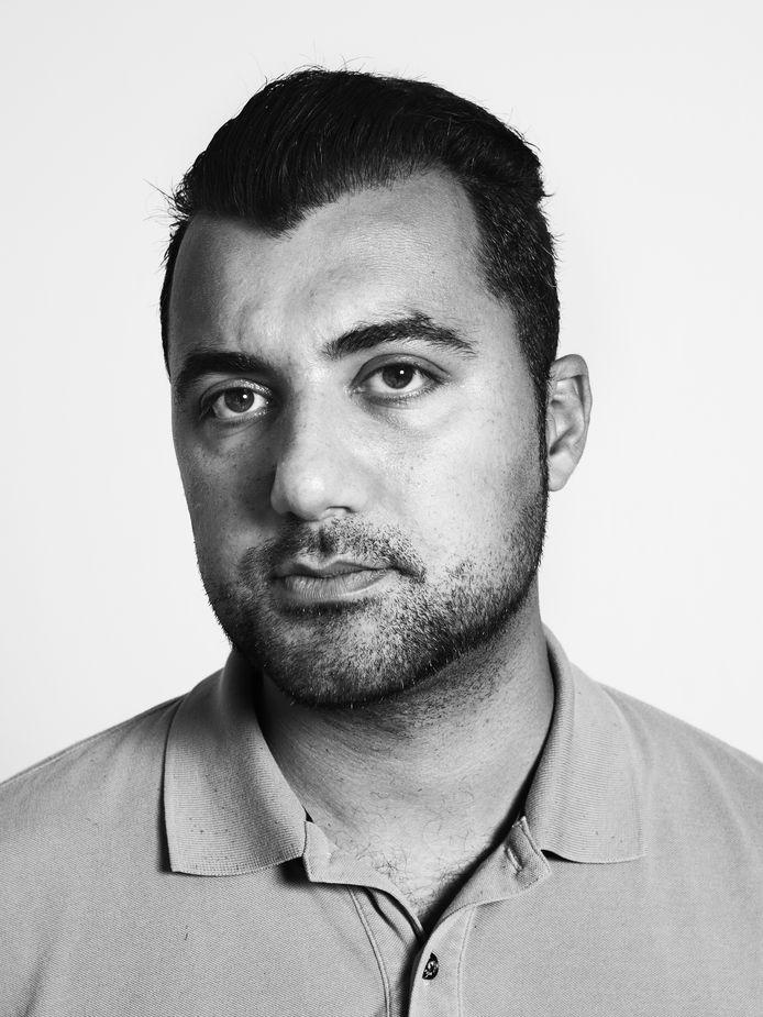 Özcan Akyol, gastprogrammeur in de Iordenstuin, onderdeel van Het Tuinfeest.