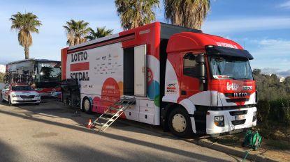 Ronde van de Algarve: logistiek een lastig karwei