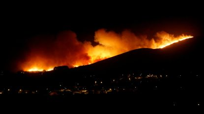 Zeewind wakkert bosbranden Portugal aan