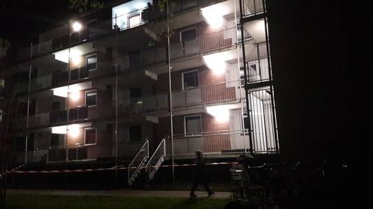 In een flatwoning in de Beethovenlaan in Doetinchem is een explosie geweest.