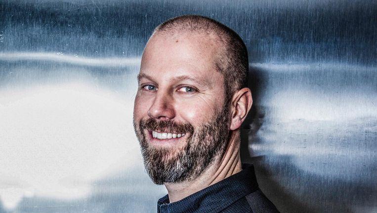 Sidney Schutte: 'Koken gaat voor mij niet alleen om mooie techniekjes en kunstig opgemaakte gerechten' Beeld Ernst Coppejans