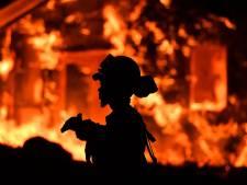 Bosbrand verwoest kustdorp in zuidoosten van Australië