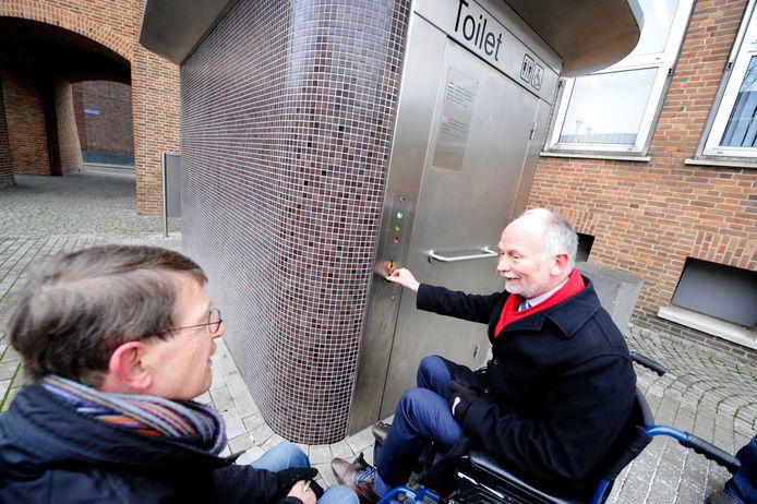 Een invalidentoilet  zoals dat er volgens het RoGeP ook in Roosendaal op verschillende plekken zou moeten komen.