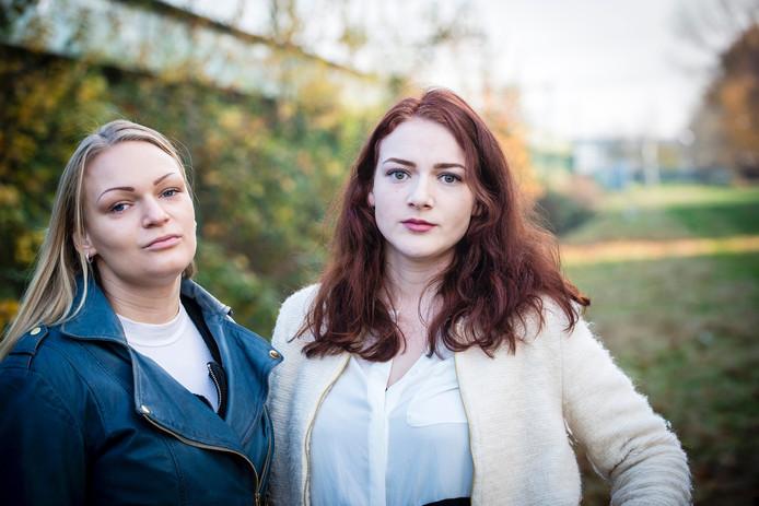 Zussen Anouck en Ronja.