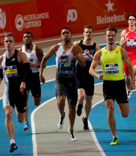 Apeldoorner Nout Wardenburg net buiten het podium op de 400 meter