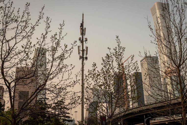 Een 5G-zendmast. Foto ter illustratie.