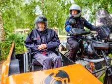 Wens in vervulling voor Careyn-bewoners: een ritje op de motor