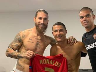 """""""De foto van de verzoening"""" tussen Cristiano Ronaldo en Sergio Ramos"""