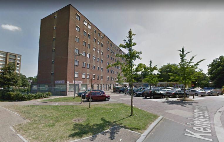 De brand ontstond in één van de appartementen.