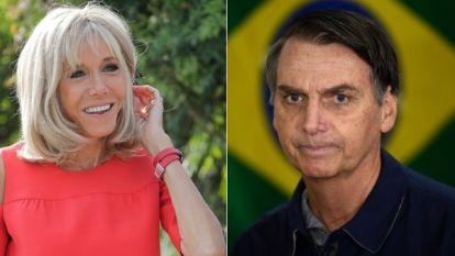 Na grove belediging door Braziliaanse president krijgt Brigitte Macron steun uit onverwachte hoek