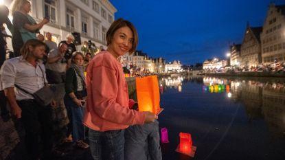 Gent herdenkt nucleaire bommen op Hiroshima en Nagasaki aan Gras- en Korenlei