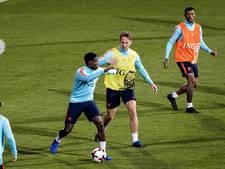 Vrij weekend voor de PSV'ers, alleen  Luuk de Jong toch nog naar Bulgarije
