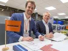 Proef met zelfrijdende wagens voor bagage bij Rotterdam Airport